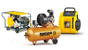 Portable reciprocating compressors from KAESER